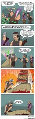 Meme Comic Tumblr - skyrim comic the dovahkiin gets all the best weapons by mustapan