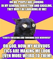 Social Anxiety Meme - social anxiety is fun ha just kidding imgflip