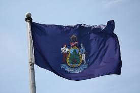 Michigans State Flag Flag Of Maine Wikiwand