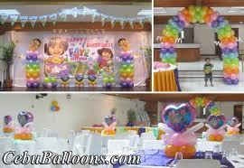 dora halloween party decorations dora the explorer cebu balloons and party supplies