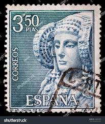 spain circa 1969 stamp printed by stock photo 104602493 shutterstock