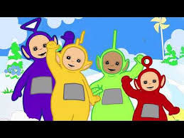 teletubbies coloring pages video kids