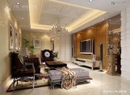 Simple European Living Room Design by Renderings Decor In Living Room With Flat Screen Tv Pop Ceiling
