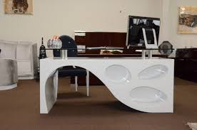 Contemporary Modern Office Furniture by Contemporary White Office Desk