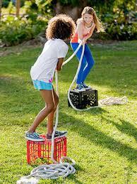 backyard summer c 4 outdoor and activities milk crates