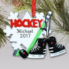 personalized hockey ornaments giftsforyounow