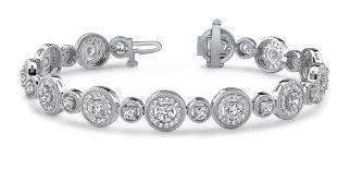 bracelet diamonds images Largest collection of antique vintage diamond bracelets jpg
