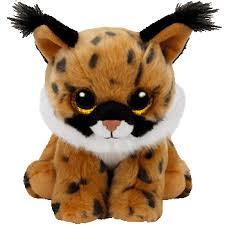 ty beanie boo larry brown lynx 6