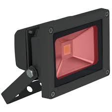 Red 10 Watt High Powered Led Flood Light
