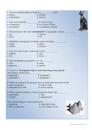 cats in ancient egypt worksheet free esl printable worksheets
