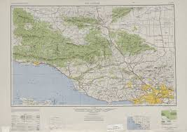 Us Map Topography Topographical Map Of Los Angeles Indiana Map