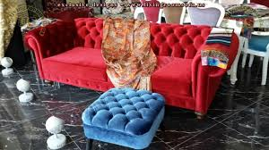 red velvet chesterfield couch exclusive design ideas