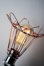 Ampoule Deco Filament Lampes à Poser Bétonnées Milk Decoration