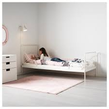 bed ikea minnen ext bed frame with slatted bed base white 80 200 cm ikea