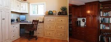 Custom Handcrafted American Made Bathroom Furniture And Cabinetry - Custom home office furniture