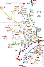 Aurora Illinois Map by Metra Rail Map My Blog