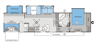2 bedroom 5th wheel floor plans 2 bedroom fifth wheel home designs
