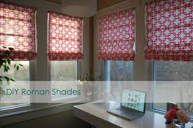 Pattern Roman Shade Bring A New Look In Your Home With Roman Shade Pattern Inertiahome Com