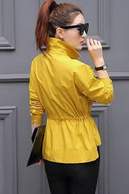 yellow blouse tomcarry collar neck elasticated waist shirt and blouse