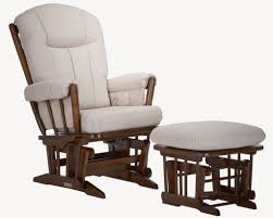 Glider Chair With Ottoman Dutailier Classic 943 Wooden Glider Chair Kids N Cribs