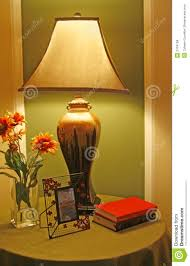 Unusual Lamps Unusual Lamp On Night Stand Stock Photo Image 2104158