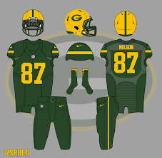 green bay packers 2016 color rush uniform mock by nickrhea on