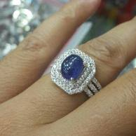 model cincin blue safir jual produk sejenis cincin pria blue safir cutting ikat perak