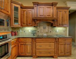 wood prestige cathedral door cherry pear kitchen cabinet stain