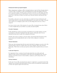 Business Plan Template Restaurant 8 Report Writing Template Musicre Sumed