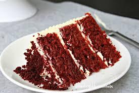 red velvet cake with swiss meringue cream cheese buttercream the