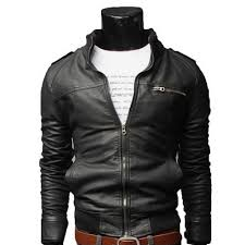 cheap motorcycle leathers men u0026 039 s fashion jackets collar slim motorcycle leather jacket
