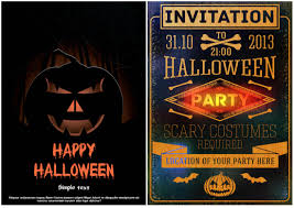 Halloween Invitation Templates Virtren Com