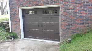 garage door repair dallas ga carriage style garage door in dark brown amarr u0027s oak summit www