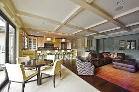 open floor plan design how to choose and use colors in an open floor plan