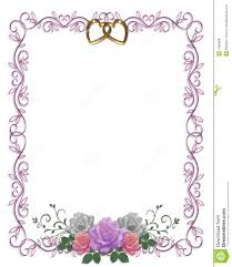 wedding invitation background free download wedding invitation floral border roses royalty free stock images