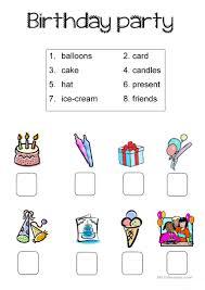 131 free esl birthdays worksheets