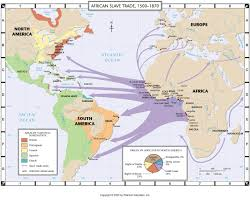 World War 2 In Europe And North Africa Map by The Transatlantic Slave Trade Africans History And American History
