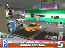 multi level car parking 5 airport driving test simulator
