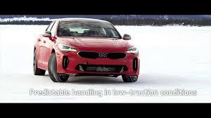 kia kia stinger winter testing sweden kia motors uk youtube