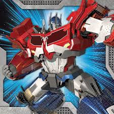 transformers party supplies transformers beverage napkins transformers themed tableware
