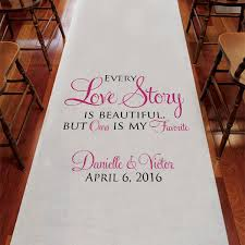 black aisle runner personalized aisle runners personalized wedding ceremony aisle