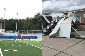 damage at west orange football stadium could cost warriors their