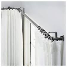 Unique Curtain Rod Glamorous Lowes Shower Curtain Rod 54 For Ikea Curtains With Lowes
