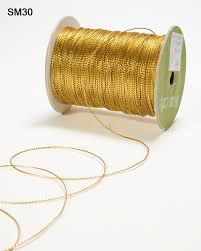 gold metallic ribbon 300 yards string metallic ribbon may arts wholesale ribbon