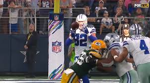 Nfl Curtains Packers And Cowboys Are Dealing With Blinding Sunlight During 4th