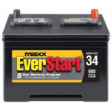 lexus brand battery everstart maxx lead acid automotive battery group size 34s
