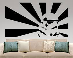Home Interior Wall Hangings Star Wars Wall Decal Etsy