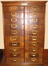 Antique Wood File Cabinet by Filing Cabinets