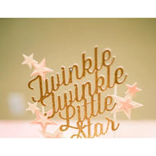 twinkle twinkle cake topper twinkle twinkle cake topper for sale