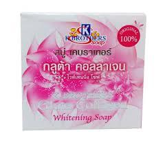 K Collagen k brothers gluta collagen whitening soap 60g